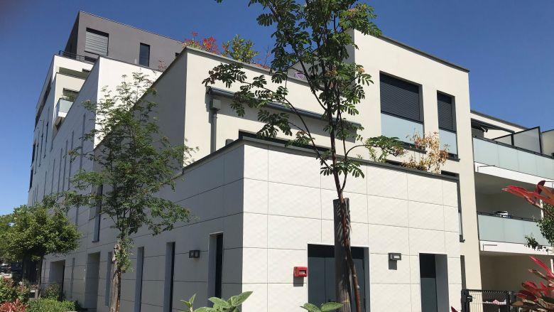 Alcys, promoteur régional, construit entre 150 et 200 logements par an. Ici, Place de l'Etoile à Strasbourg / © Alcys