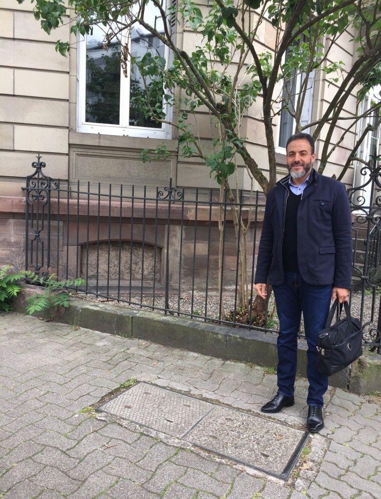 Khalid Jabir est conseiller immobilier depuis 16 ans. Pour lui, le marché immobilier dans les quartiers de l'Orangerie et des Contades reste à flux tendu malgré la crise sanitaire. / © Khalid Jabir