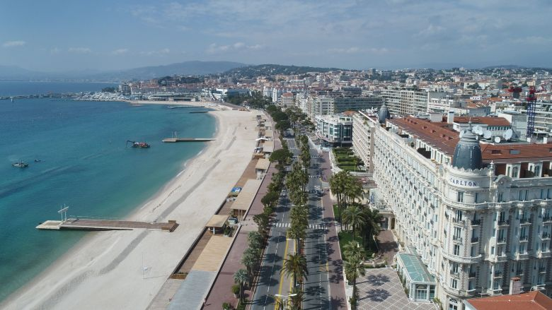 Cannes est une des villes où le prix de l'immobilier a augmenté en 2019. / © Sébastien Botella / FTV