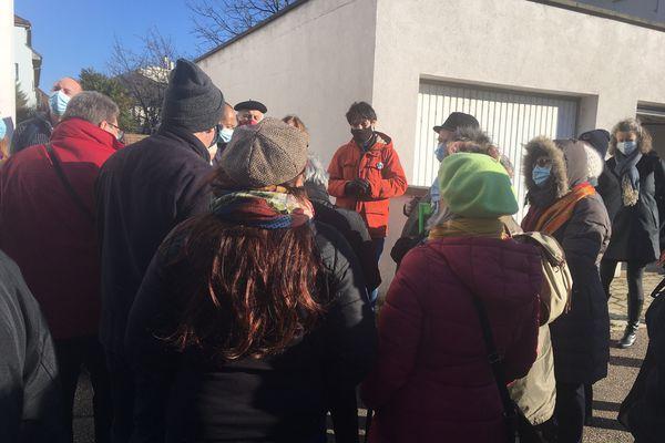 Les riverains concernés se sont réunis autour d'Antoine Dubois, l'élu du quartier Neudorf-Musau