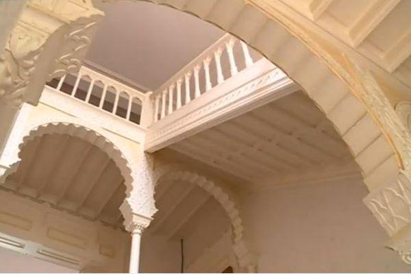 L'escalier monumental de style oriental