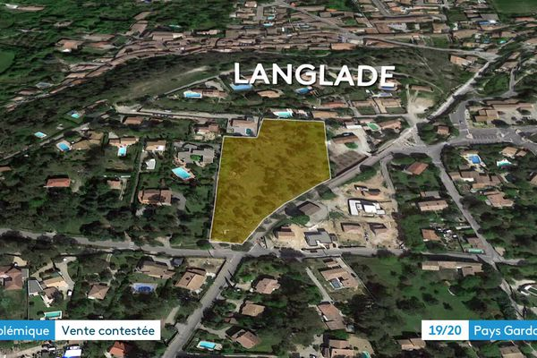 La pinède est au centre du village en zone constructible
