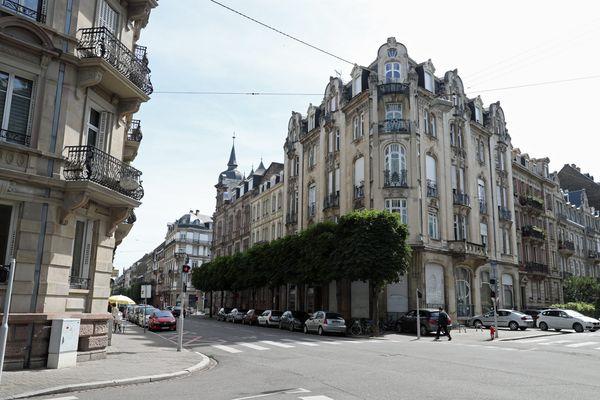 Le quartier de la Neustadt, témoin du passé allemand de Strasbourg, a été classé au patrimoine mondial de l'Unesco en 2017.