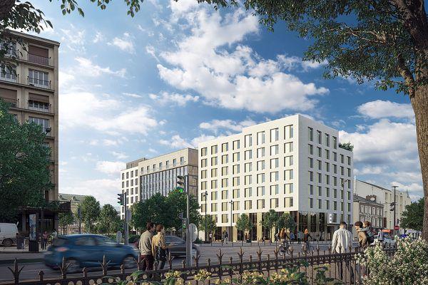 Les nouvelles constructions vont transformer le quartier de la gare.