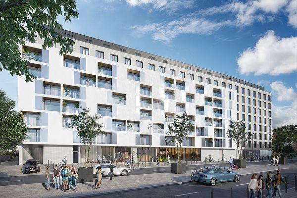 Le projet de Vinci Immobilier s'étend sur 14.300 mètres carrés.