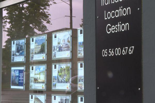 """""""Les agents immobiliers ont un stock très faible et son à flux tendu"""", explique François Asseo, directeur d'une agence immobilière."""
