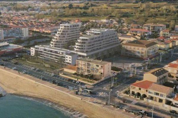 Le projet Archipel à Valras-Plage : la livraison des appartements est annoncée en 2023.