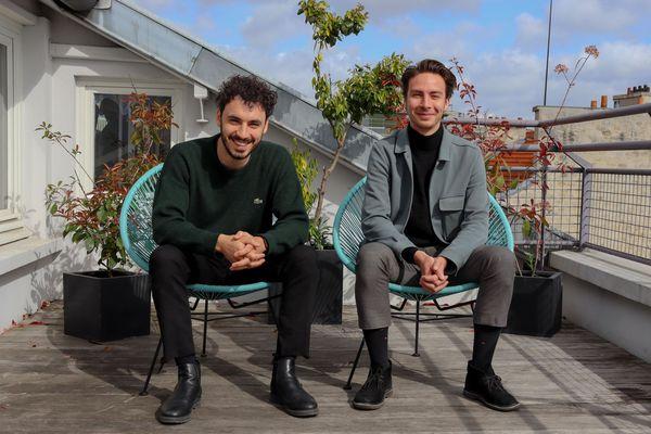 Rémy Fabre et Louis Lambert, créateurs de Zefir