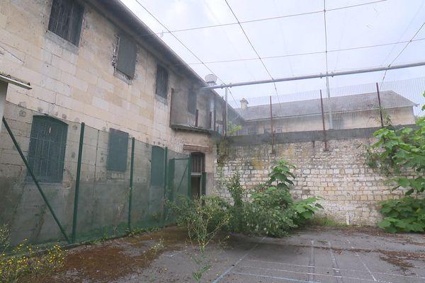 La façade de la maison d'arrêt de Compiègne va être conservée