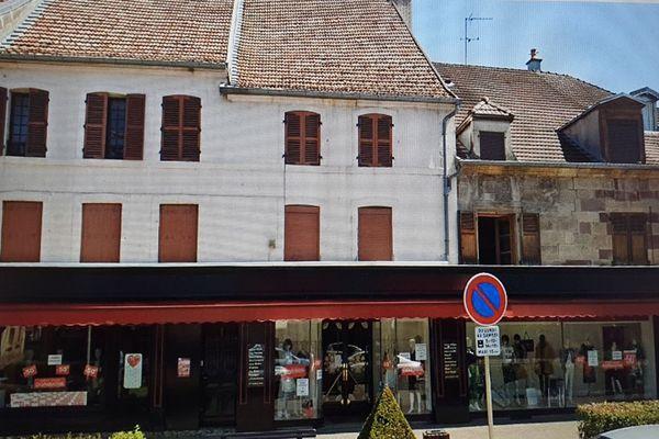 Plusieurs commerces sont fermés à Lure en Haute-Saône.