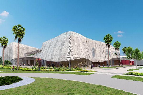 Nîmes : le projet de halle des sports qui devrait ouvrir en 2024.