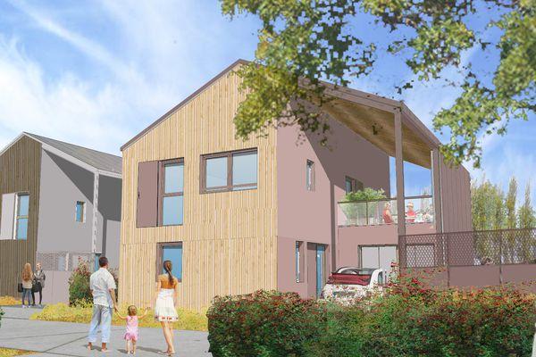 Les cinquante-quatre logements collectifs et individuels au sein du quartier Renancourt à Amiens, proposés via le bail réel solidaire, seront livrés aux propriétaires au deuxième trimestre 2023.